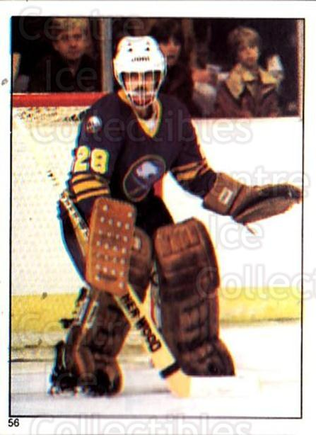 1981-82 O-Pee-Chee Stickers #56 Bob Sauve<br/>4 In Stock - $2.00 each - <a href=https://centericecollectibles.foxycart.com/cart?name=1981-82%20O-Pee-Chee%20Stickers%20%2356%20Bob%20Sauve...&quantity_max=4&price=$2.00&code=232362 class=foxycart> Buy it now! </a>