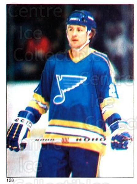 1981-82 O-Pee-Chee Stickers #128 Bernie Federko<br/>2 In Stock - $2.00 each - <a href=https://centericecollectibles.foxycart.com/cart?name=1981-82%20O-Pee-Chee%20Stickers%20%23128%20Bernie%20Federko...&quantity_max=2&price=$2.00&code=232434 class=foxycart> Buy it now! </a>
