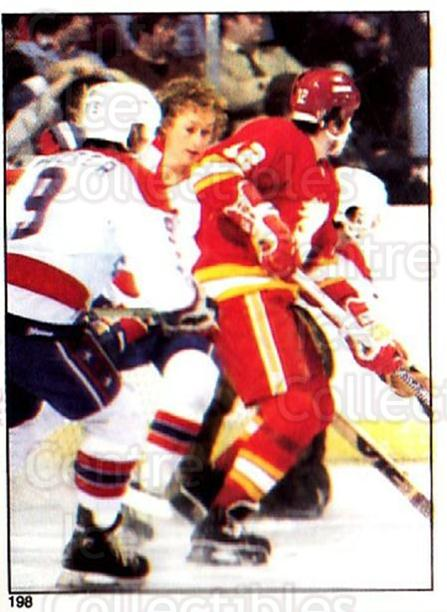1981-82 O-Pee-Chee Stickers #198 Calgary Flames, Washington Capitals<br/>6 In Stock - $2.00 each - <a href=https://centericecollectibles.foxycart.com/cart?name=1981-82%20O-Pee-Chee%20Stickers%20%23198%20Calgary%20Flames,...&quantity_max=6&price=$2.00&code=232504 class=foxycart> Buy it now! </a>