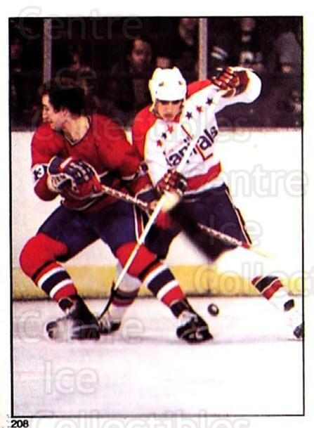 1981-82 O-Pee-Chee Stickers #208 Bob Gainey, Washington Capitals<br/>5 In Stock - $2.00 each - <a href=https://centericecollectibles.foxycart.com/cart?name=1981-82%20O-Pee-Chee%20Stickers%20%23208%20Bob%20Gainey,%20Was...&quantity_max=5&price=$2.00&code=232514 class=foxycart> Buy it now! </a>