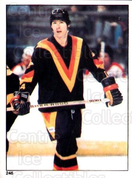 1981-82 O-Pee-Chee Stickers #246 Chris Oddleifson<br/>6 In Stock - $2.00 each - <a href=https://centericecollectibles.foxycart.com/cart?name=1981-82%20O-Pee-Chee%20Stickers%20%23246%20Chris%20Oddleifso...&quantity_max=6&price=$2.00&code=232552 class=foxycart> Buy it now! </a>