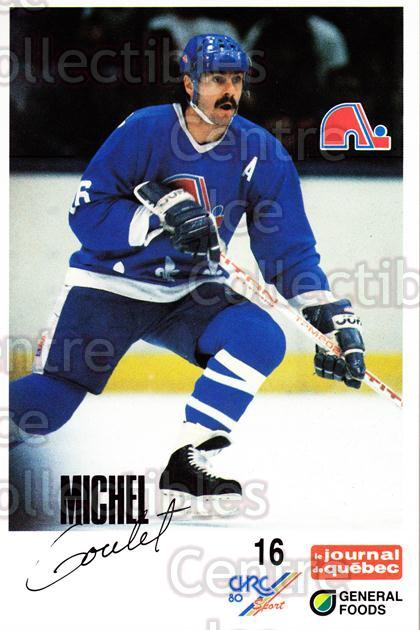 1988-89 Quebec Nordiques General Foods #13 Michel Goulet<br/>3 In Stock - $3.00 each - <a href=https://centericecollectibles.foxycart.com/cart?name=1988-89%20Quebec%20Nordiques%20General%20Foods%20%2313%20Michel%20Goulet...&quantity_max=3&price=$3.00&code=23267 class=foxycart> Buy it now! </a>