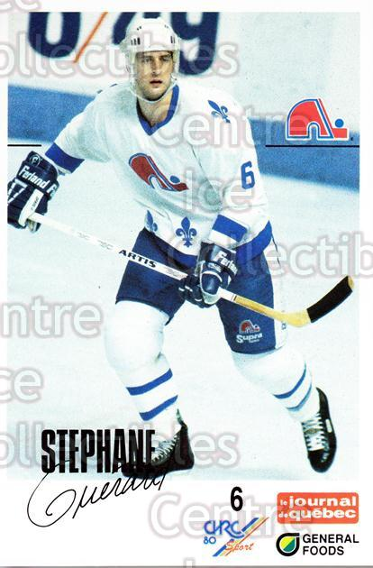 1988-89 Quebec Nordiques General Foods #15 Stephane Guerard<br/>3 In Stock - $3.00 each - <a href=https://centericecollectibles.foxycart.com/cart?name=1988-89%20Quebec%20Nordiques%20General%20Foods%20%2315%20Stephane%20Guerar...&quantity_max=3&price=$3.00&code=23268 class=foxycart> Buy it now! </a>