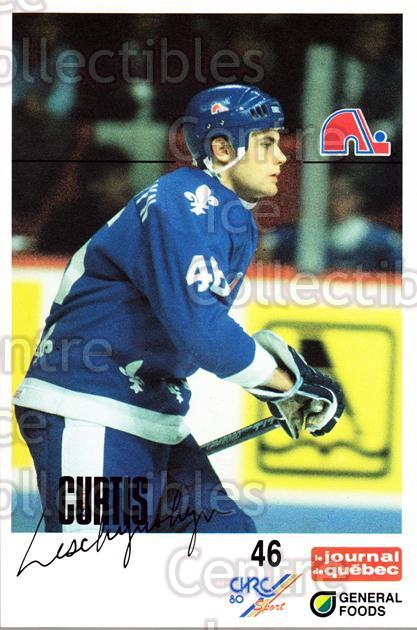 1988-89 Quebec Nordiques General Foods #22 Curtis Leschyshyn<br/>3 In Stock - $3.00 each - <a href=https://centericecollectibles.foxycart.com/cart?name=1988-89%20Quebec%20Nordiques%20General%20Foods%20%2322%20Curtis%20Leschysh...&quantity_max=3&price=$3.00&code=23274 class=foxycart> Buy it now! </a>