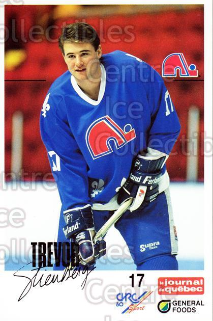 1988-89 Quebec Nordiques General Foods #33 Trevor Steinburg<br/>3 In Stock - $3.00 each - <a href=https://centericecollectibles.foxycart.com/cart?name=1988-89%20Quebec%20Nordiques%20General%20Foods%20%2333%20Trevor%20Steinbur...&quantity_max=3&price=$3.00&code=23282 class=foxycart> Buy it now! </a>