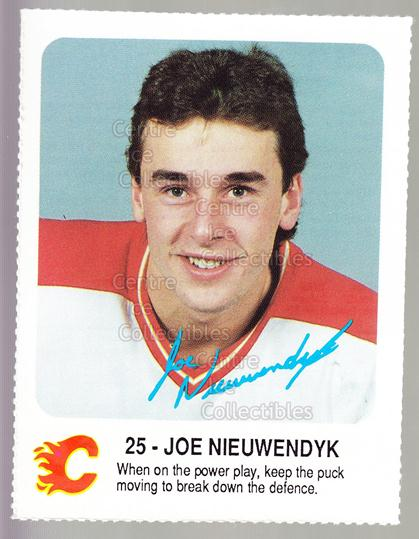 1987-88 Calgary Flames Red Rooster #20 Joe Nieuwendyk<br/>6 In Stock - $5.00 each - <a href=https://centericecollectibles.foxycart.com/cart?name=1987-88%20Calgary%20Flames%20Red%20Rooster%20%2320%20Joe%20Nieuwendyk...&quantity_max=6&price=$5.00&code=23312 class=foxycart> Buy it now! </a>