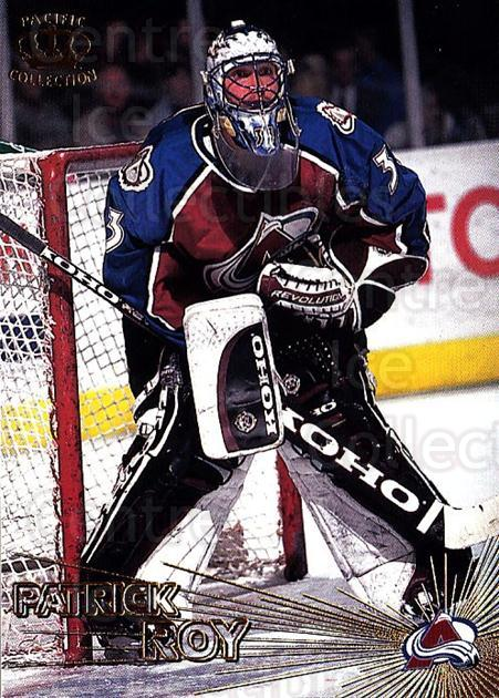 1997-98 Pacific #33 Patrick Roy<br/>1 In Stock - $2.00 each - <a href=https://centericecollectibles.foxycart.com/cart?name=1997-98%20Pacific%20%2333%20Patrick%20Roy...&quantity_max=1&price=$2.00&code=233310 class=foxycart> Buy it now! </a>