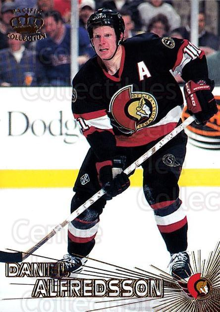 1997-98 Pacific #58 Daniel Alfredsson<br/>5 In Stock - $1.00 each - <a href=https://centericecollectibles.foxycart.com/cart?name=1997-98%20Pacific%20%2358%20Daniel%20Alfredss...&quantity_max=5&price=$1.00&code=233335 class=foxycart> Buy it now! </a>