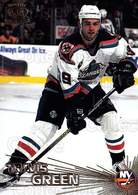 1997-98 Pacific #170 Travis Green<br/>5 In Stock - $1.00 each - <a href=https://centericecollectibles.foxycart.com/cart?name=1997-98%20Pacific%20%23170%20Travis%20Green...&quantity_max=5&price=$1.00&code=233447 class=foxycart> Buy it now! </a>