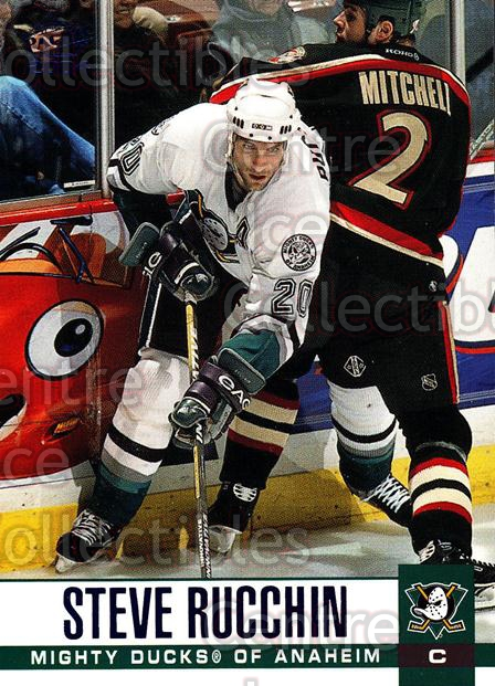 2003-04 Pacific Blue #9 Steve Rucchin<br/>5 In Stock - $3.00 each - <a href=https://centericecollectibles.foxycart.com/cart?name=2003-04%20Pacific%20Blue%20%239%20Steve%20Rucchin...&quantity_max=5&price=$3.00&code=233637 class=foxycart> Buy it now! </a>