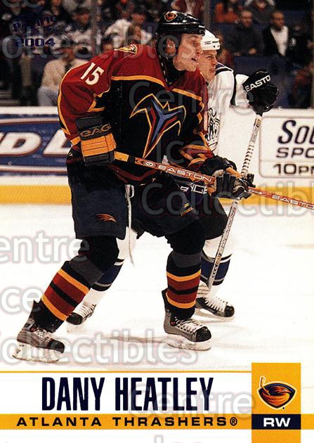 2003-04 Pacific Blue #14 Dany Heatley<br/>4 In Stock - $3.00 each - <a href=https://centericecollectibles.foxycart.com/cart?name=2003-04%20Pacific%20Blue%20%2314%20Dany%20Heatley...&quantity_max=4&price=$3.00&code=233642 class=foxycart> Buy it now! </a>
