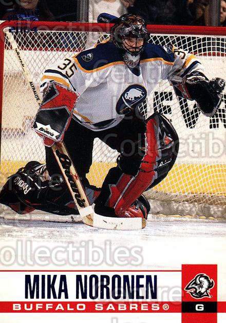 2003-04 Pacific Blue #43 Mika Noronen<br/>4 In Stock - $3.00 each - <a href=https://centericecollectibles.foxycart.com/cart?name=2003-04%20Pacific%20Blue%20%2343%20Mika%20Noronen...&quantity_max=4&price=$3.00&code=233671 class=foxycart> Buy it now! </a>