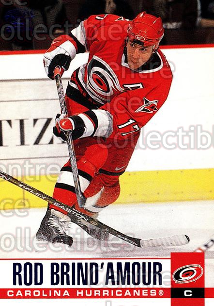 2003-04 Pacific Blue #59 Rod Brind'Amour<br/>3 In Stock - $3.00 each - <a href=https://centericecollectibles.foxycart.com/cart?name=2003-04%20Pacific%20Blue%20%2359%20Rod%20Brind'Amour...&quantity_max=3&price=$3.00&code=233687 class=foxycart> Buy it now! </a>
