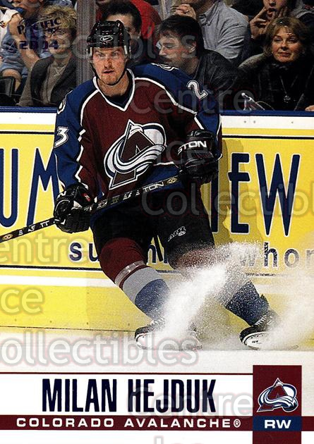 2003-04 Pacific Blue #84 Milan Hejduk<br/>5 In Stock - $3.00 each - <a href=https://centericecollectibles.foxycart.com/cart?name=2003-04%20Pacific%20Blue%20%2384%20Milan%20Hejduk...&quantity_max=5&price=$3.00&code=233712 class=foxycart> Buy it now! </a>