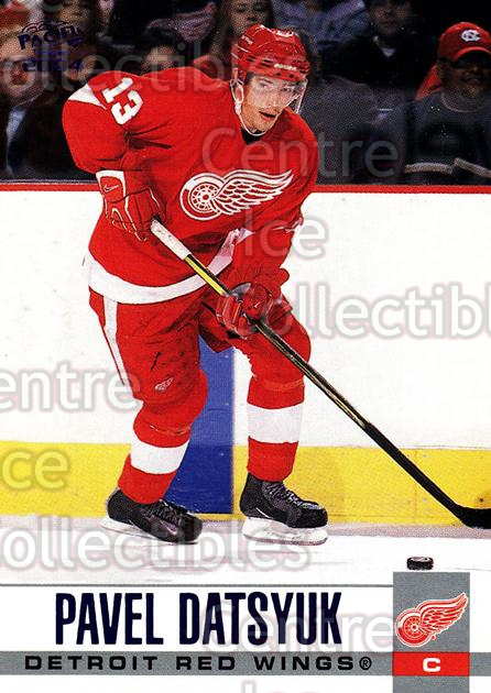 2003-04 Pacific Blue #116 Pavel Datsyuk<br/>3 In Stock - $5.00 each - <a href=https://centericecollectibles.foxycart.com/cart?name=2003-04%20Pacific%20Blue%20%23116%20Pavel%20Datsyuk...&quantity_max=3&price=$5.00&code=233744 class=foxycart> Buy it now! </a>