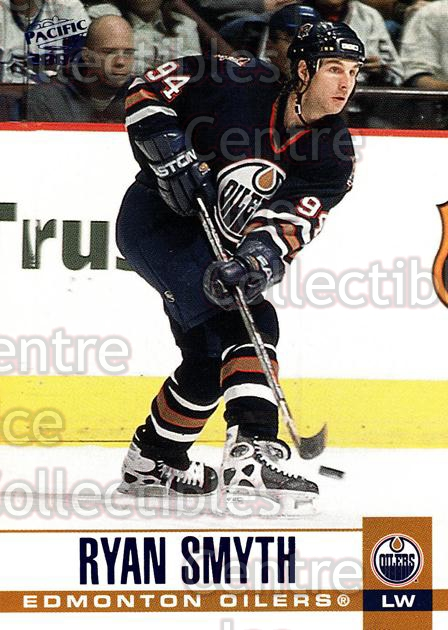 2003-04 Pacific Blue #138 Ryan Smyth<br/>4 In Stock - $3.00 each - <a href=https://centericecollectibles.foxycart.com/cart?name=2003-04%20Pacific%20Blue%20%23138%20Ryan%20Smyth...&quantity_max=4&price=$3.00&code=233766 class=foxycart> Buy it now! </a>