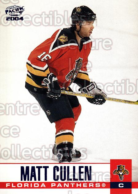 2003-04 Pacific Blue #142 Matt Cullen<br/>3 In Stock - $3.00 each - <a href=https://centericecollectibles.foxycart.com/cart?name=2003-04%20Pacific%20Blue%20%23142%20Matt%20Cullen...&quantity_max=3&price=$3.00&code=233770 class=foxycart> Buy it now! </a>