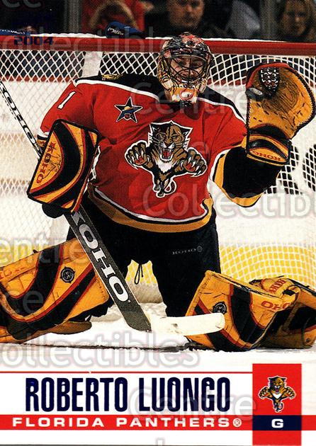 2003-04 Pacific Blue #147 Roberto Luongo<br/>3 In Stock - $3.00 each - <a href=https://centericecollectibles.foxycart.com/cart?name=2003-04%20Pacific%20Blue%20%23147%20Roberto%20Luongo...&quantity_max=3&price=$3.00&code=233775 class=foxycart> Buy it now! </a>