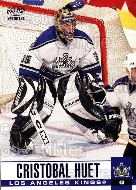2003-04 Pacific Blue #156 Cristobal Huet<br/>4 In Stock - $3.00 each - <a href=https://centericecollectibles.foxycart.com/cart?name=2003-04%20Pacific%20Blue%20%23156%20Cristobal%20Huet...&quantity_max=4&price=$3.00&code=233784 class=foxycart> Buy it now! </a>