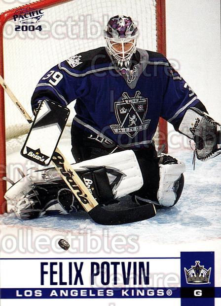 2003-04 Pacific Blue #159 Felix Potvin<br/>2 In Stock - $5.00 each - <a href=https://centericecollectibles.foxycart.com/cart?name=2003-04%20Pacific%20Blue%20%23159%20Felix%20Potvin...&quantity_max=2&price=$5.00&code=233787 class=foxycart> Buy it now! </a>