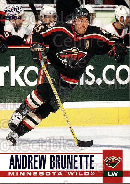 2003-04 Pacific Blue #162 Andrew Brunette<br/>4 In Stock - $3.00 each - <a href=https://centericecollectibles.foxycart.com/cart?name=2003-04%20Pacific%20Blue%20%23162%20Andrew%20Brunette...&quantity_max=4&price=$3.00&code=233790 class=foxycart> Buy it now! </a>
