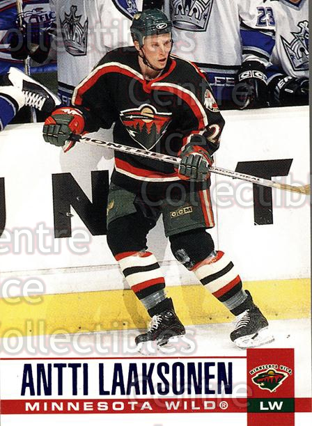 2003-04 Pacific Blue #167 Antti Laaksonen<br/>4 In Stock - $3.00 each - <a href=https://centericecollectibles.foxycart.com/cart?name=2003-04%20Pacific%20Blue%20%23167%20Antti%20Laaksonen...&quantity_max=4&price=$3.00&code=233795 class=foxycart> Buy it now! </a>