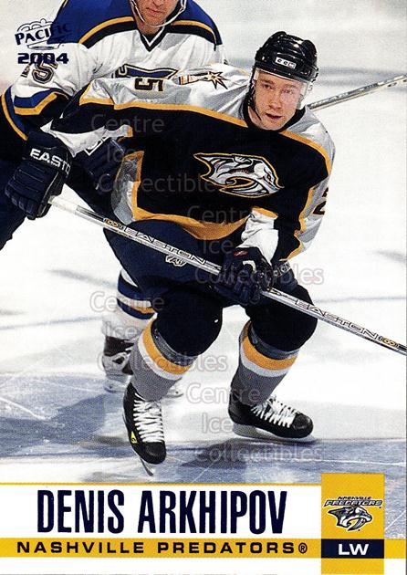 2003-04 Pacific Blue #185 Denis Arkhipov<br/>5 In Stock - $3.00 each - <a href=https://centericecollectibles.foxycart.com/cart?name=2003-04%20Pacific%20Blue%20%23185%20Denis%20Arkhipov...&quantity_max=5&price=$3.00&code=233813 class=foxycart> Buy it now! </a>