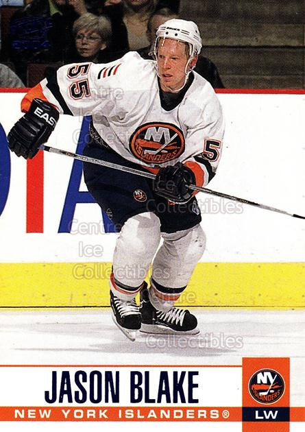 2003-04 Pacific Blue #210 Jason Blake<br/>5 In Stock - $3.00 each - <a href=https://centericecollectibles.foxycart.com/cart?name=2003-04%20Pacific%20Blue%20%23210%20Jason%20Blake...&quantity_max=5&price=$3.00&code=233838 class=foxycart> Buy it now! </a>