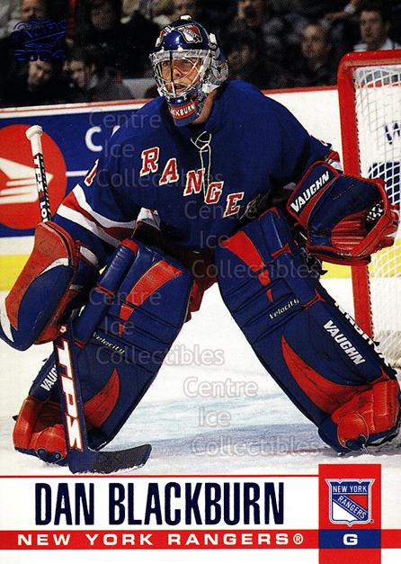 2003-04 Pacific Blue #220 Dan Blackburn<br/>4 In Stock - $3.00 each - <a href=https://centericecollectibles.foxycart.com/cart?name=2003-04%20Pacific%20Blue%20%23220%20Dan%20Blackburn...&quantity_max=4&price=$3.00&code=233848 class=foxycart> Buy it now! </a>