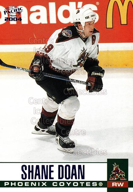 2003-04 Pacific Blue #261 Shane Doan<br/>5 In Stock - $3.00 each - <a href=https://centericecollectibles.foxycart.com/cart?name=2003-04%20Pacific%20Blue%20%23261%20Shane%20Doan...&quantity_max=5&price=$3.00&code=233889 class=foxycart> Buy it now! </a>