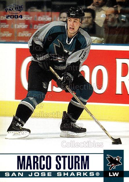 2003-04 Pacific Blue #301 Marco Sturm<br/>4 In Stock - $3.00 each - <a href=https://centericecollectibles.foxycart.com/cart?name=2003-04%20Pacific%20Blue%20%23301%20Marco%20Sturm...&quantity_max=4&price=$3.00&code=233929 class=foxycart> Buy it now! </a>