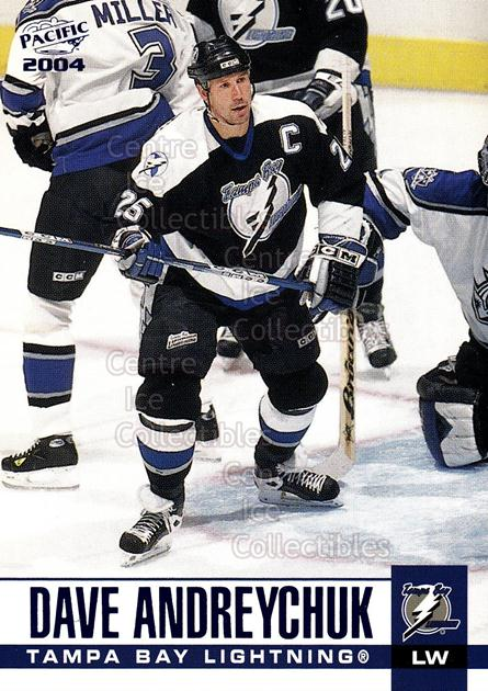 2003-04 Pacific Blue #303 Dave Andreychuk<br/>4 In Stock - $3.00 each - <a href=https://centericecollectibles.foxycart.com/cart?name=2003-04%20Pacific%20Blue%20%23303%20Dave%20Andreychuk...&quantity_max=4&price=$3.00&code=233931 class=foxycart> Buy it now! </a>