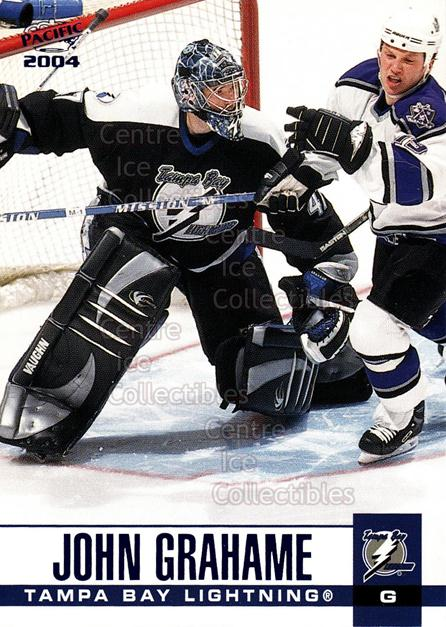 2003-04 Pacific Blue #306 John Grahame<br/>4 In Stock - $3.00 each - <a href=https://centericecollectibles.foxycart.com/cart?name=2003-04%20Pacific%20Blue%20%23306%20John%20Grahame...&quantity_max=4&price=$3.00&code=233934 class=foxycart> Buy it now! </a>