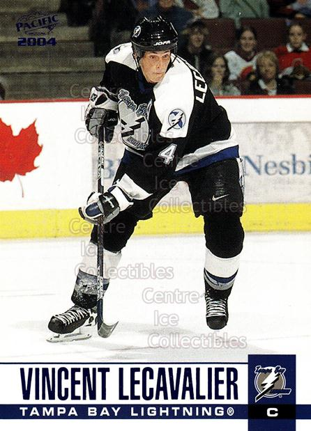 2003-04 Pacific Blue #308 Vincent Lecavalier<br/>4 In Stock - $3.00 each - <a href=https://centericecollectibles.foxycart.com/cart?name=2003-04%20Pacific%20Blue%20%23308%20Vincent%20Lecaval...&quantity_max=4&price=$3.00&code=233936 class=foxycart> Buy it now! </a>