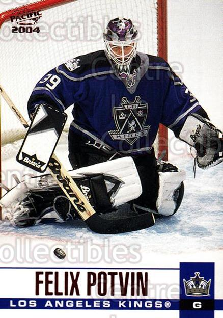 2003-04 Pacific Red #159 Felix Potvin<br/>2 In Stock - $3.00 each - <a href=https://centericecollectibles.foxycart.com/cart?name=2003-04%20Pacific%20Red%20%23159%20Felix%20Potvin...&quantity_max=2&price=$3.00&code=234137 class=foxycart> Buy it now! </a>