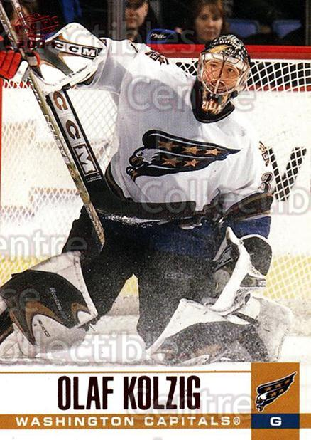 2003-04 Pacific Red #346 Olaf Kolzig<br/>7 In Stock - $2.00 each - <a href=https://centericecollectibles.foxycart.com/cart?name=2003-04%20Pacific%20Red%20%23346%20Olaf%20Kolzig...&quantity_max=7&price=$2.00&code=234324 class=foxycart> Buy it now! </a>