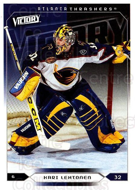 2005-06 UD Victory #9 Kari Lehtonen<br/>2 In Stock - $1.00 each - <a href=https://centericecollectibles.foxycart.com/cart?name=2005-06%20UD%20Victory%20%239%20Kari%20Lehtonen...&quantity_max=2&price=$1.00&code=234677 class=foxycart> Buy it now! </a>
