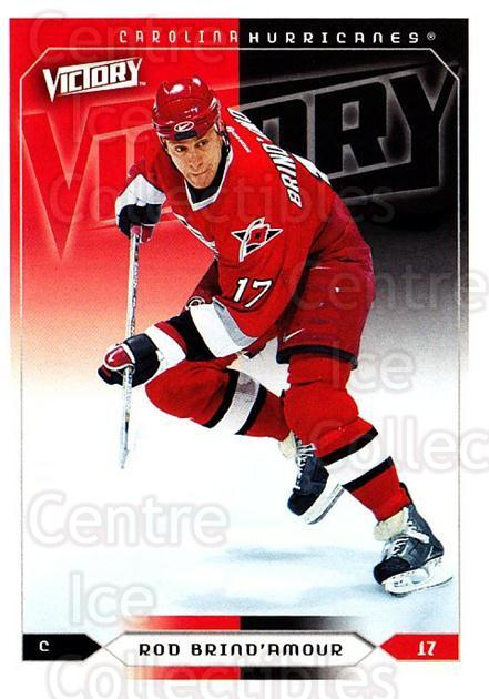 2005-06 UD Victory #35 Rod Brind'Amour<br/>4 In Stock - $1.00 each - <a href=https://centericecollectibles.foxycart.com/cart?name=2005-06%20UD%20Victory%20%2335%20Rod%20Brind'Amour...&quantity_max=4&price=$1.00&code=234703 class=foxycart> Buy it now! </a>