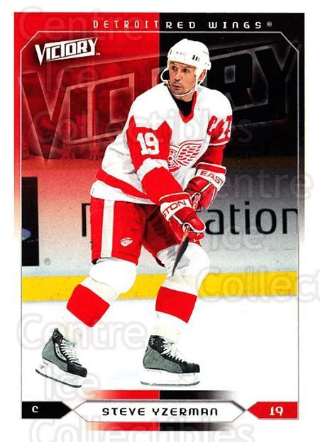2005-06 UD Victory #67 Steve Yzerman<br/>2 In Stock - $2.00 each - <a href=https://centericecollectibles.foxycart.com/cart?name=2005-06%20UD%20Victory%20%2367%20Steve%20Yzerman...&quantity_max=2&price=$2.00&code=234735 class=foxycart> Buy it now! </a>