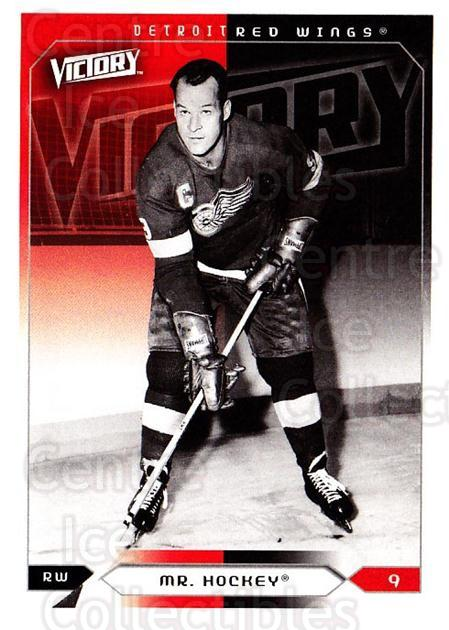 2005-06 UD Victory #76 Gordie Howe<br/>2 In Stock - $2.00 each - <a href=https://centericecollectibles.foxycart.com/cart?name=2005-06%20UD%20Victory%20%2376%20Gordie%20Howe...&quantity_max=2&price=$2.00&code=234744 class=foxycart> Buy it now! </a>