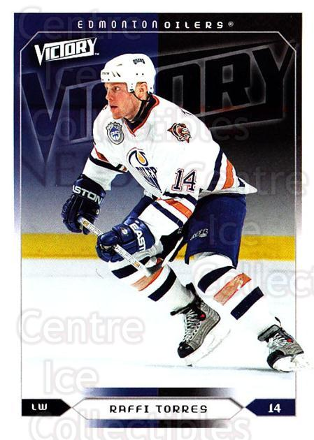 2005-06 UD Victory #78 Raffi Torres<br/>5 In Stock - $1.00 each - <a href=https://centericecollectibles.foxycart.com/cart?name=2005-06%20UD%20Victory%20%2378%20Raffi%20Torres...&quantity_max=5&price=$1.00&code=234746 class=foxycart> Buy it now! </a>