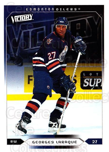 2005-06 UD Victory #82 Georges Laraque<br/>5 In Stock - $1.00 each - <a href=https://centericecollectibles.foxycart.com/cart?name=2005-06%20UD%20Victory%20%2382%20Georges%20Laraque...&quantity_max=5&price=$1.00&code=234750 class=foxycart> Buy it now! </a>
