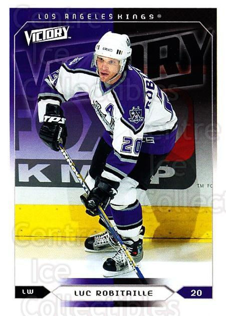 2005-06 UD Victory #91 Luc Robitaille<br/>5 In Stock - $1.00 each - <a href=https://centericecollectibles.foxycart.com/cart?name=2005-06%20UD%20Victory%20%2391%20Luc%20Robitaille...&quantity_max=5&price=$1.00&code=234759 class=foxycart> Buy it now! </a>