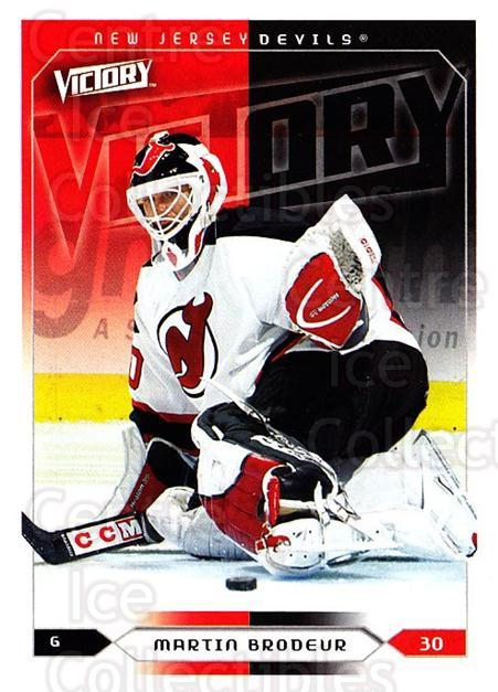 2005-06 UD Victory #115 Martin Brodeur<br/>2 In Stock - $2.00 each - <a href=https://centericecollectibles.foxycart.com/cart?name=2005-06%20UD%20Victory%20%23115%20Martin%20Brodeur...&quantity_max=2&price=$2.00&code=234783 class=foxycart> Buy it now! </a>