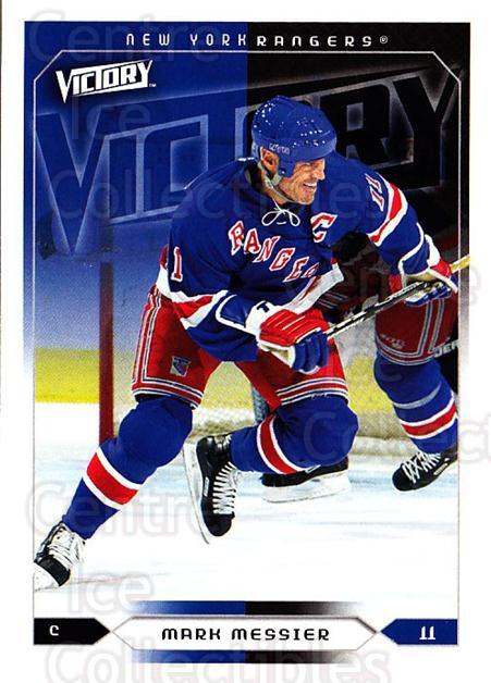 2005-06 UD Victory #128 Mark Messier<br/>3 In Stock - $1.00 each - <a href=https://centericecollectibles.foxycart.com/cart?name=2005-06%20UD%20Victory%20%23128%20Mark%20Messier...&quantity_max=3&price=$1.00&code=234796 class=foxycart> Buy it now! </a>