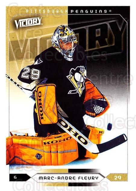 2005-06 UD Victory #156 Marc-Andre Fleury<br/>2 In Stock - $2.00 each - <a href=https://centericecollectibles.foxycart.com/cart?name=2005-06%20UD%20Victory%20%23156%20Marc-Andre%20Fleu...&quantity_max=2&price=$2.00&code=234824 class=foxycart> Buy it now! </a>