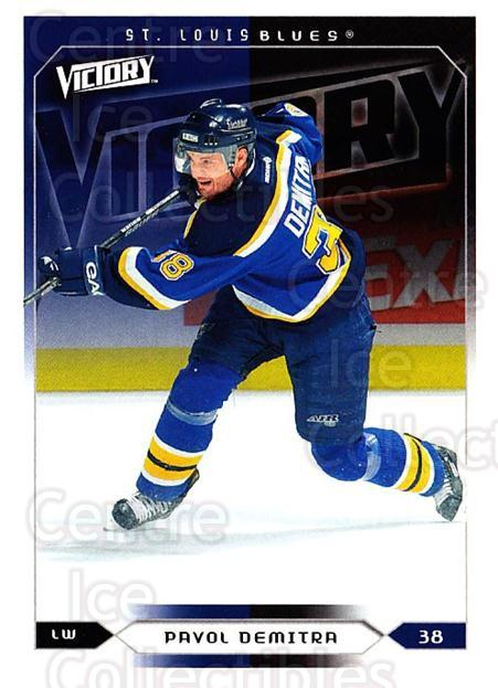2005-06 UD Victory #171 Pavol Demitra<br/>5 In Stock - $1.00 each - <a href=https://centericecollectibles.foxycart.com/cart?name=2005-06%20UD%20Victory%20%23171%20Pavol%20Demitra...&quantity_max=5&price=$1.00&code=234839 class=foxycart> Buy it now! </a>