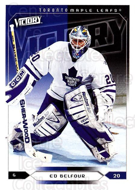 2005-06 UD Victory #186 Ed Belfour<br/>4 In Stock - $1.00 each - <a href=https://centericecollectibles.foxycart.com/cart?name=2005-06%20UD%20Victory%20%23186%20Ed%20Belfour...&quantity_max=4&price=$1.00&code=234854 class=foxycart> Buy it now! </a>