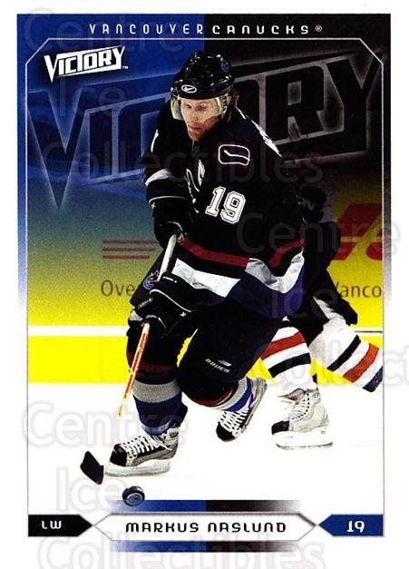 2005-06 UD Victory #189 Markus Naslund<br/>4 In Stock - $1.00 each - <a href=https://centericecollectibles.foxycart.com/cart?name=2005-06%20UD%20Victory%20%23189%20Markus%20Naslund...&quantity_max=4&price=$1.00&code=234857 class=foxycart> Buy it now! </a>