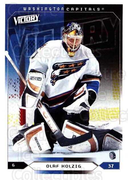2005-06 UD Victory #196 Olaf Kolzig<br/>4 In Stock - $1.00 each - <a href=https://centericecollectibles.foxycart.com/cart?name=2005-06%20UD%20Victory%20%23196%20Olaf%20Kolzig...&quantity_max=4&price=$1.00&code=234864 class=foxycart> Buy it now! </a>